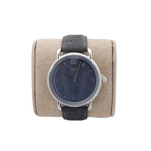 腕時計青 2