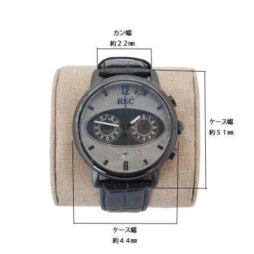 腕時計黒サイズ
